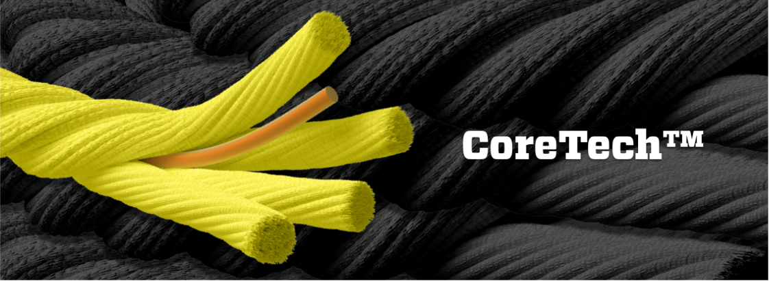 Each Classic Rope is made with a Coretech core