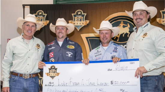 Classic Rope team member Luke Brown won the Bob Feist Invitational using a Classic Rope
